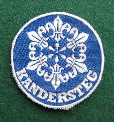 Kanderstag Scout Centre, Switzerland Patch/Cloth Badge - Boy Scouts