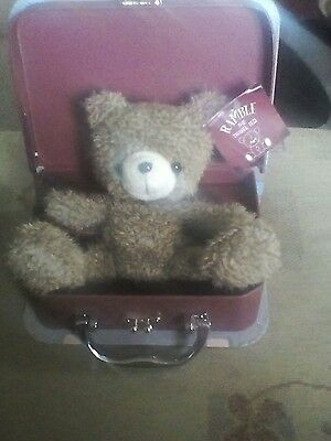 Ramble the traveling ted, new in suitcase with tag, lovely item.