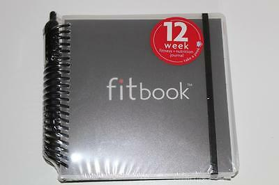 FITBOOK fitness and nutrition 12 week planner Brand New sealed