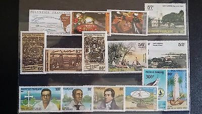 French Polynesia Stamps selection - MNH
