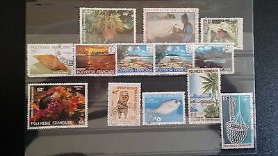 French Polynesia Stamps selection - USED