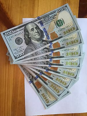 2 * Series 2009A $100 Dollar UNC Bills - Consecutive Serial Numbered Star Notes