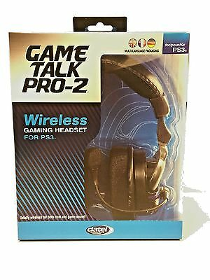 PS3 Game Talk Pro 2 Wireless Headset