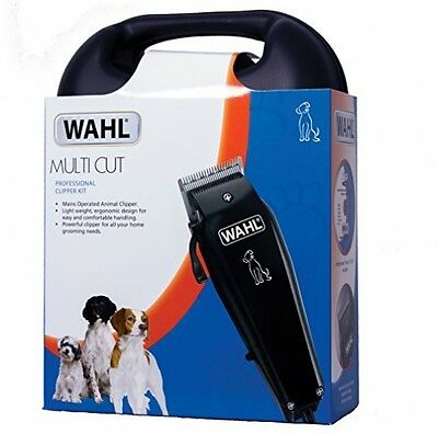 Professional PET Hair Wahl Clippers Dog Trimmer Multi Cut Set -Instructional DVD