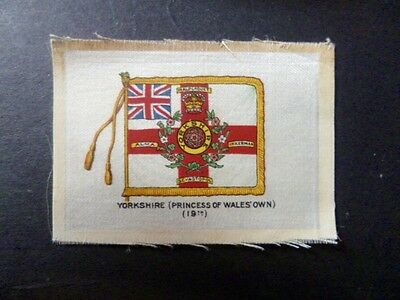 "Phillips Silks Ww1 ""regimental Colours And Crests"" Yorkshire Princess Of Wales."
