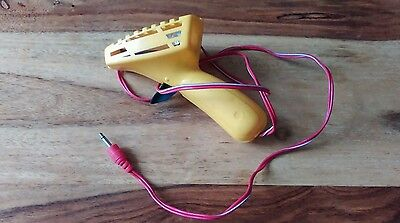 Scalextric Classic Power Base Hand Controller Throttle - Yellow plug in type