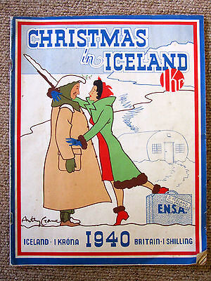 'Christmas in Iceland' 1940 Booklet.