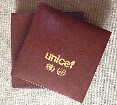 Álbum Unicef Series Y Sobres Onu United Nations