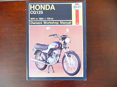 Honda CG125 Haynes workshop manual