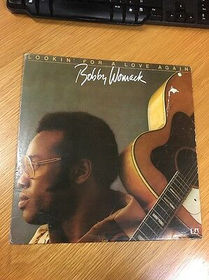 LP Bobby Womack Lookin' For A Love Again U.S.