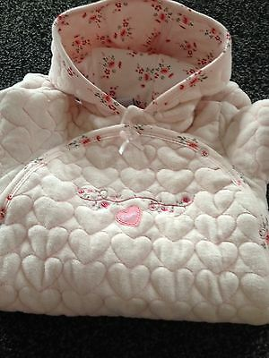 Rock A Bye Baby Boutique Brand New 3-6 Months Girls Snowsuit Coat All In One
