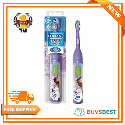 Oral B Disney Frozen Olaf Kids Electric Toothbrush with Magic Timer App D3010FRZ