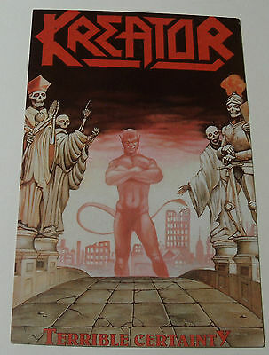 KREATOR Terrible Certainty POSTCARD Heavy Metal Music Memorabilia NEW