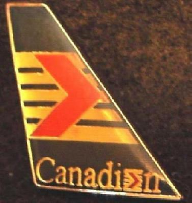 CANADIAN AIRLINES INTERNATIONAL TAIL FIN Pin CANADA Near Mint