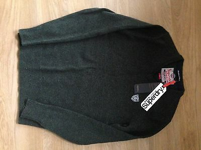 New Mens Superdry Jumper Size Small