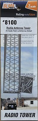 1:220 Z Scale Model 70' Radio Antenna Etched Metal Kit