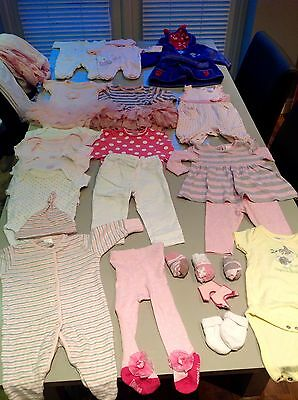 Baby girls clothes bundle (0-24 months)