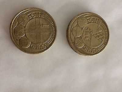 London & Belfast Capital Cities One Pound Coins - £1