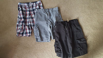 Boys/Youth cargo shorts_ lot of 3_ EUC_sz 18