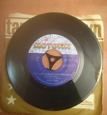 The Four Tops- Just Seven Numbers (Can Straightenout My Life) 1970 Us Motown