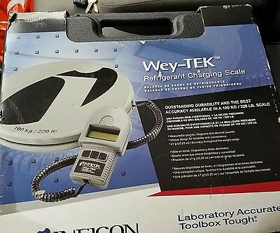 Inficon wey-tek Refrigerant charging scale *Brand New*