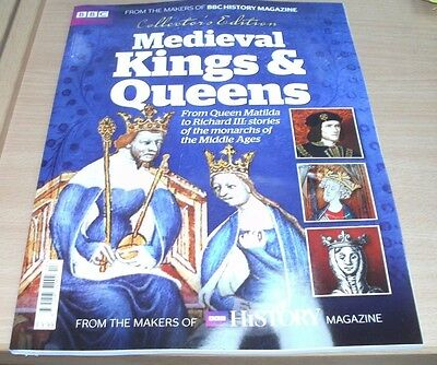 BBC History magazine Collector's Edition 2017 Medieval Kings & Queens