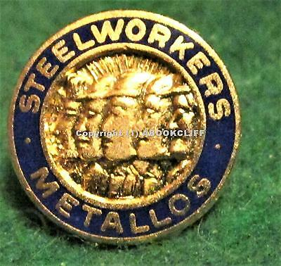 United Steel Workers Of America Union Canada Member Pin