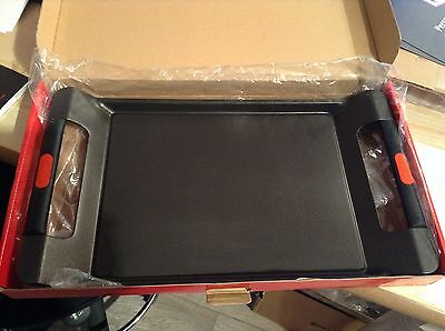 RED Castey UK 45cm Non Stick Flat Tray *Ex Display FREE P&P For Gas Hobs