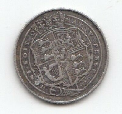 1818 Silver King George Shilling