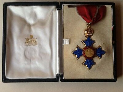 Commander Of The British Empire Boxed Medal