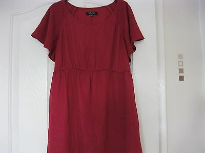 New Look Maternity Dress  Size 10 Burgundy
