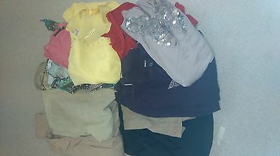 Ladies clothes bundle jackets trousers skirt tops size 14 16 18