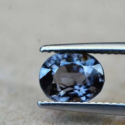1.79ct Natural Oval Unheated Purple Spinel Myanmar #R