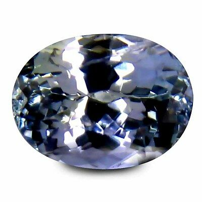0.90 Ct TOP REMARKABLE TOP BLUISH VIOLET 100% NATURAL TANZANITE LOOSE GEMSTONES