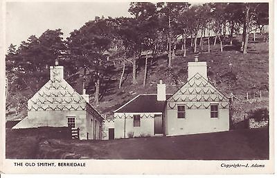 Vintage Postcard. BERRIEDALE, The Old Smithy. Real Photograph Card VGC
