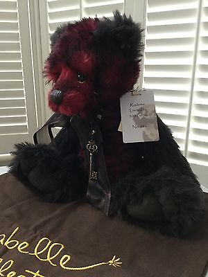 Charlie Bears Isabelle Collection Teddy Bear Limited Edition 239/500 - ROULETTE