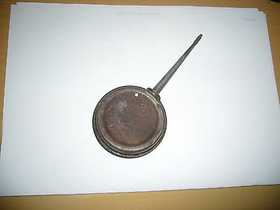 Vintage small oil can
