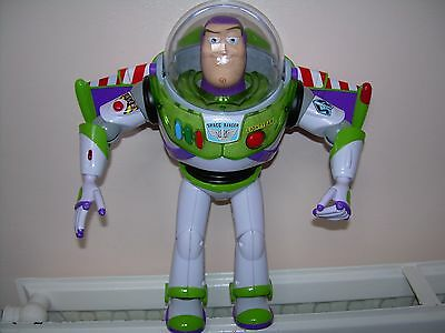 Buzz Lightyear+Disney Pixar Toy Story 3 +Talking+wings+Laser sound+As new +12""