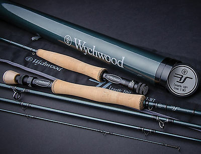 Wychwood RS Fly Fishing Rod 9ft 10ft 4 Piece All Sizes With Carbon Rod Tube