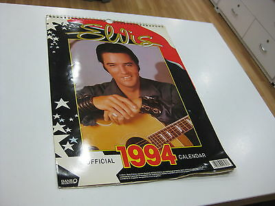 Elvis Presley Official Calendar 1994