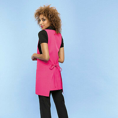 Ladies Wrap Around Tunics Salon/spa/hair New Stlye Asst Colours And Sizes New