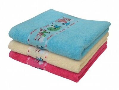Dyckhoff Frottee Handtuch Kinder Baby Badetuch Fuchs taupe