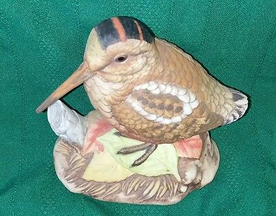 Lefton China WoodCock Figurine Vintage  Hand Painted Cock