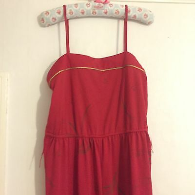 Vintage Red Play suit