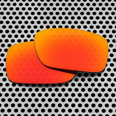 New Volt Polarized Red Replacement Lenses for Oakley Crankcase