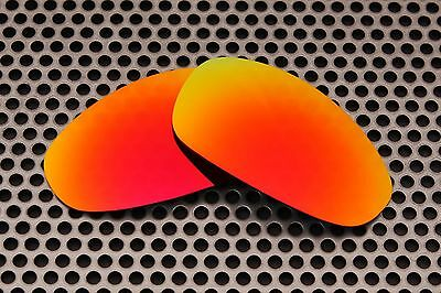 New Volt Polarized Red Replacement Lenses for Oakley Juliet