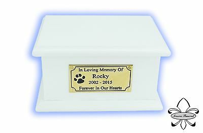 Solid Wood Pet / Cat / Dog, Cremation Urn / Casket