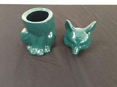 Threshold Cookie Jar of Fox Canister Green
