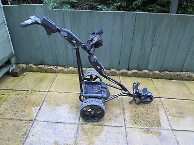 powakaddy freeway 2 electric golf trolley,new 27 hole,28 ah,battery,new charger,