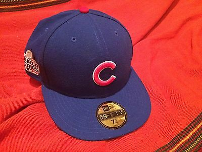 Limited edition Authentic Chicago Cubs Baseball Cap World Series Memorabilia